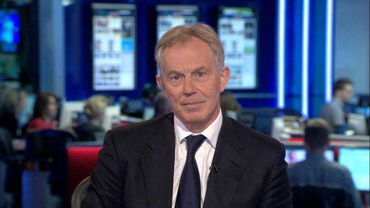 Middle East envoy Tony Blair speaks to Sky News