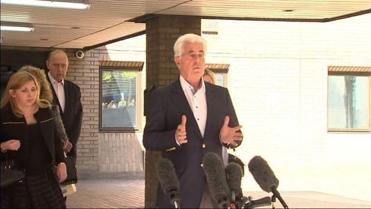 Max Clifford offers no comment on leaving court