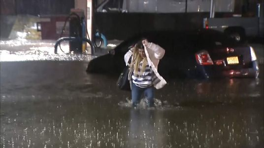 Heavy Rains Caused Widespread Flooding in the east of the United States