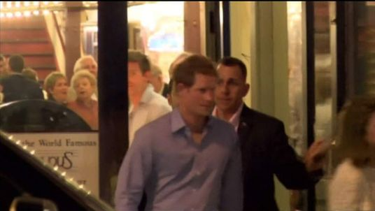 William and Harry arrive in Memphis for a friend's wedding
