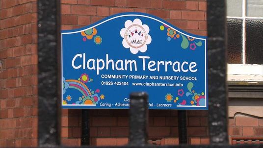 Clapham Terrace Community Primary in Leamington Spa in Warwickshire
