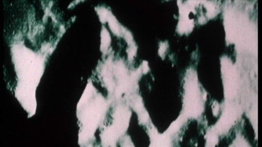 Moon filmed from Apollo 15