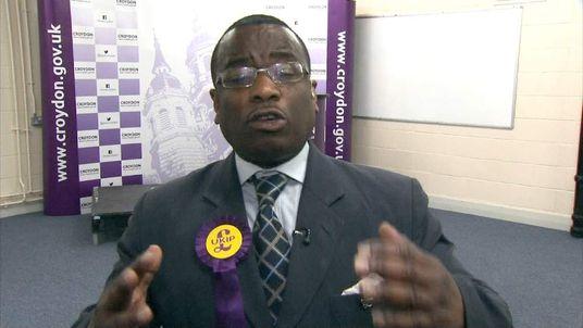 UKIP Candidate Croydon Winston McKenzie