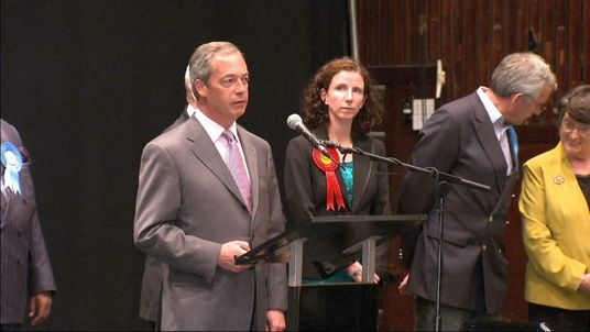 Nigel Farage Victory Speech