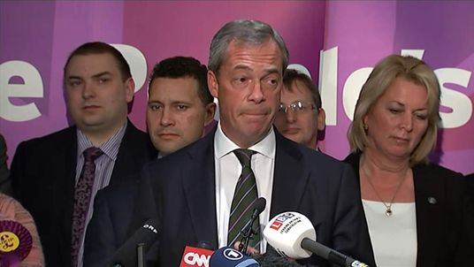 Nigel Farage UKIP leader speech