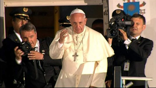 Pope Francis says farewell after visit to Jerusalem
