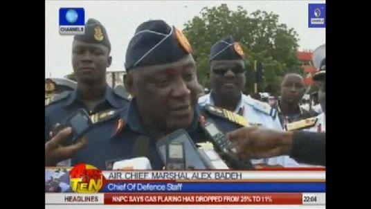 Nigerian Air Chief Marshal Alex Badeh
