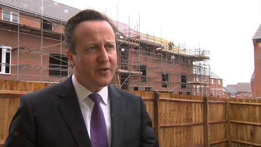 David Cameron speaks on success of Help To Buy scheme