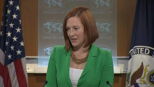 Jen Psaki, a spokeswoman for the US State Department