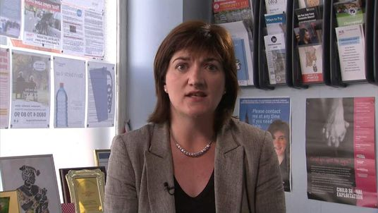 Nicky Morgan MP.