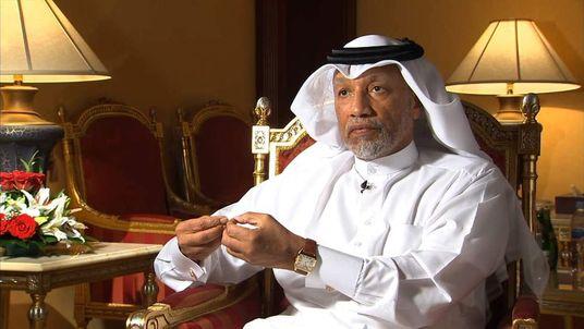 FORMER VICE PRESIDENT FIFA  MOHAMED BIN HAMMAM