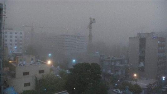 Sandstorm in Tehran
