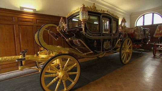 The Queen's new carriage.