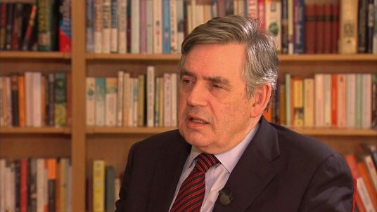 Gordon Brown interview with Eamonn Holmes