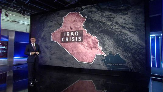 Sky's Alistair Bunkall on Iraq crisis
