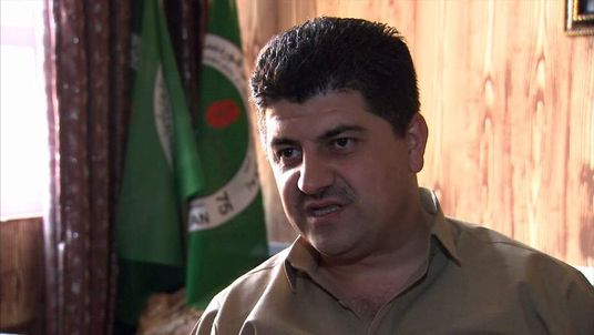 Lahoor Talabani, director of counter terrorism for the Kurdistan Regional Government (KRG)
