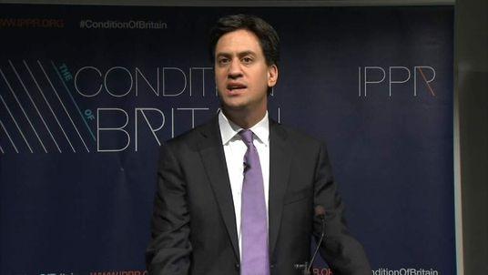 Ed Miliband youth benefits speech