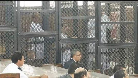 Al Jazeera journalists jailed for seven years.