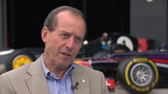 Former F1 driver and team owner Jackie Oliver