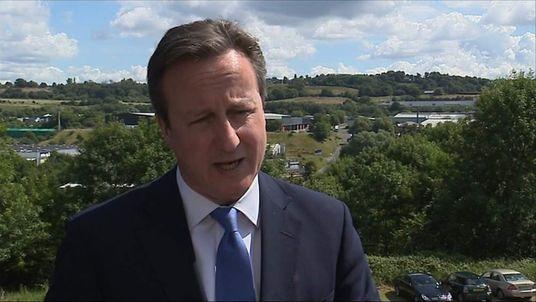 ABUSE David Cameron PM
