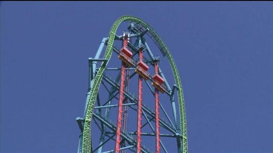 New Jersey theme park unveils world's tallest drop ride