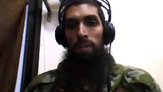 Yilmaz, alleged trainer of jihadi fighters in Syria