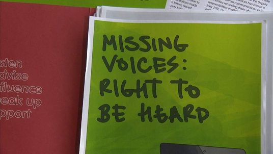 Missing Voices, Right To Be Heard