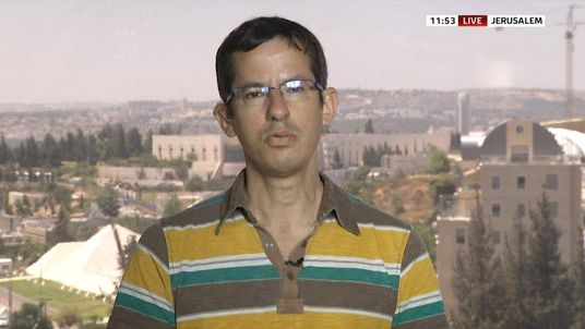 Hagai El-Ad, director of B'Tselem - The Israeli Information Center for Human Rights in the Occupied Territories