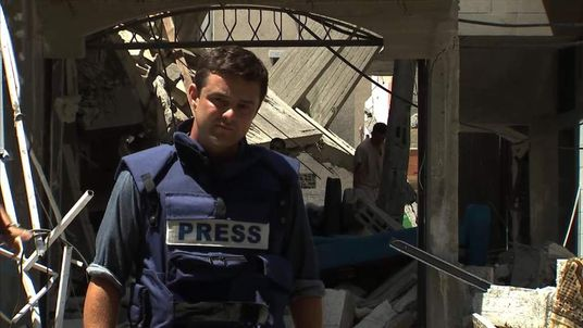 Sky's Tom Rayner reports from the scene of an airstrike in northern Gaza