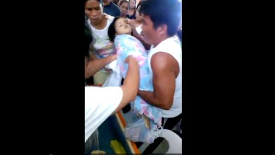 Three-year-old girl reportedly declared dead 'wakes up' at funeral