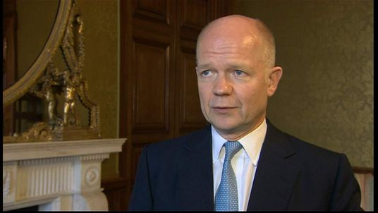 William Hague speaks about his decision to stand down as Foreign Secretary