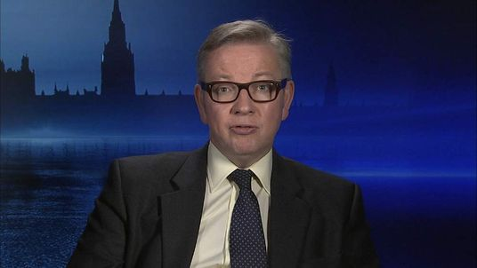 Chief Whip Michael Gove
