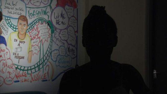 Care Leaver Girl Silhouette