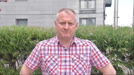 Brent Sharp friend of Ukraine plane victim Glenn Thomas