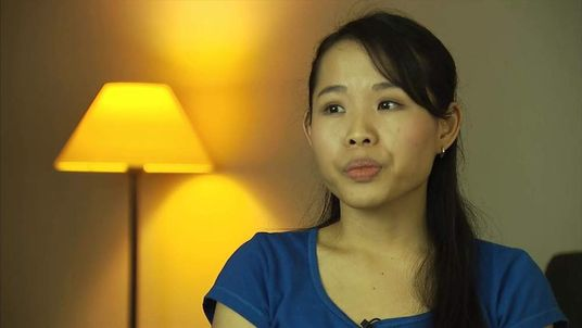 Malaysia Airlines care giver Tan Hui Fen speaks to Sky News.