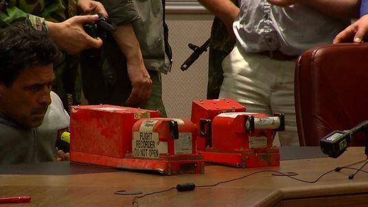 The black boxes from Malaysia Airlines flight MH17.