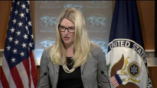 US State Dept spokesperson Marie Harf