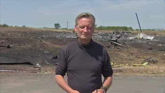Stuart Ramsay at MH17 crash site