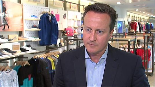 David Cameron dismissed Ed Miliband's comments over his image