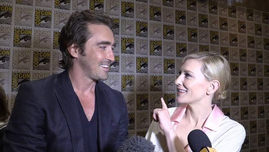 Cate Blanchett and Lee Pace at Comic-Con