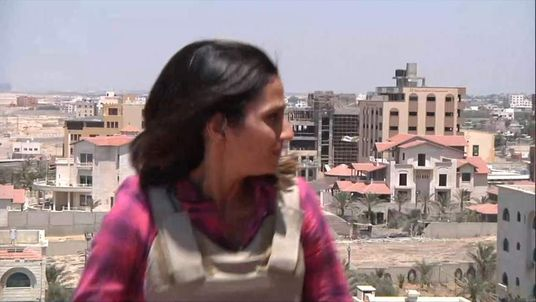 Sky's Sherine Tadros in Gaza City