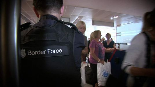 Border Force Manchester Airport
