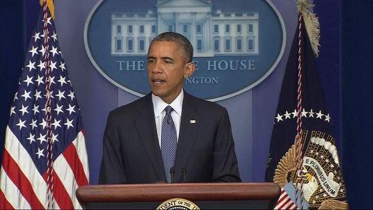 President Obama Making Statement