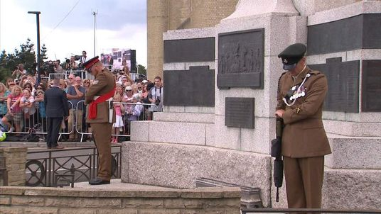 WW1 100 anniversary memorial