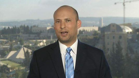 Israeli minister Naftali Bennett on Gaza conflict