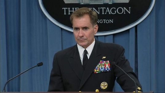 Pentagon Press Secretary Rear Admiral John Kirby