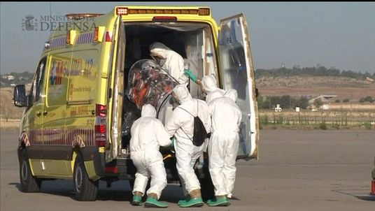 Spanish ebola patient returns to Spain for treatment