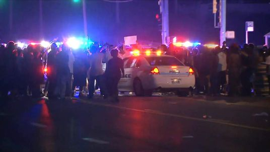 Looting in Ferguson