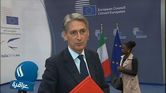 Foreign Secretary Philip Hammond MP