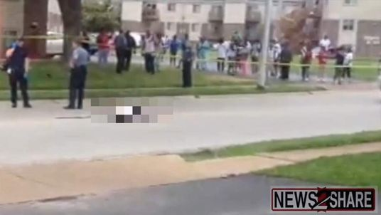 Ferguson St Louis shooting ugc immediate aftermath